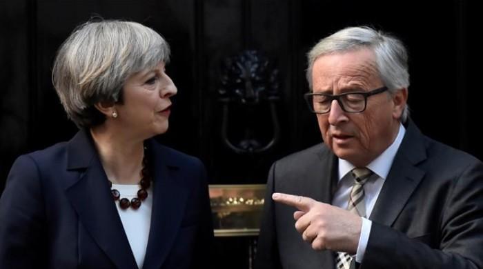 'Despondent' May losing sleep on in-fighting, said Juncker: FAZ