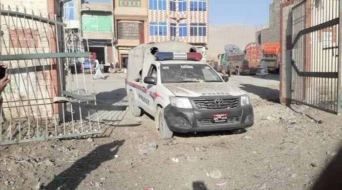 IED blast targets police vehicle in Quetta; no loss of life reported