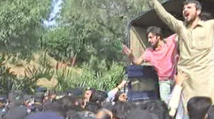 Police detain over 70 protesting students as classes resume at QAU
