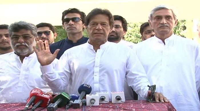 Entire government machinery busy saving Nawaz: Imran Khan
