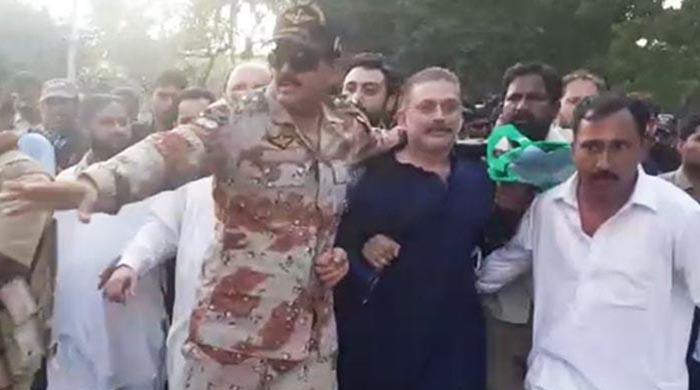 Sharjeel Memon arrested by NAB in corruption case