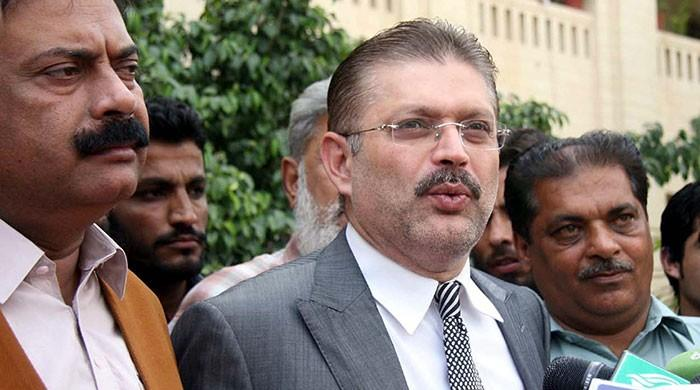 Corruption case: Sharjeel Memon yet to be arrested despite bail cancellation
