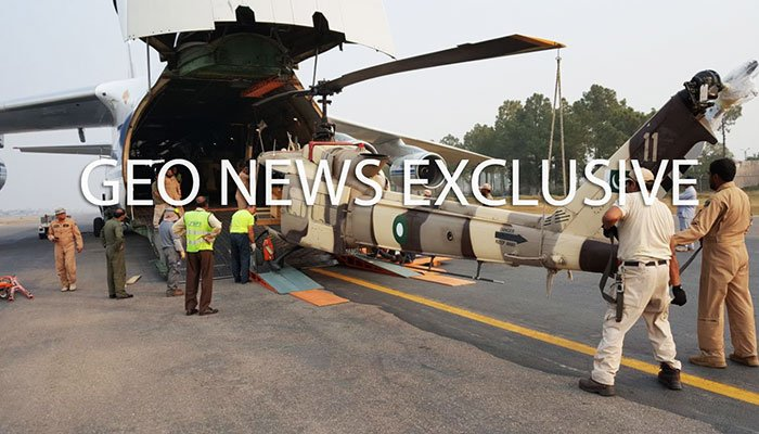 Pakistan returns helicopters given by US