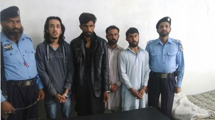 Four arrested for selling drugs to students in Islamabad