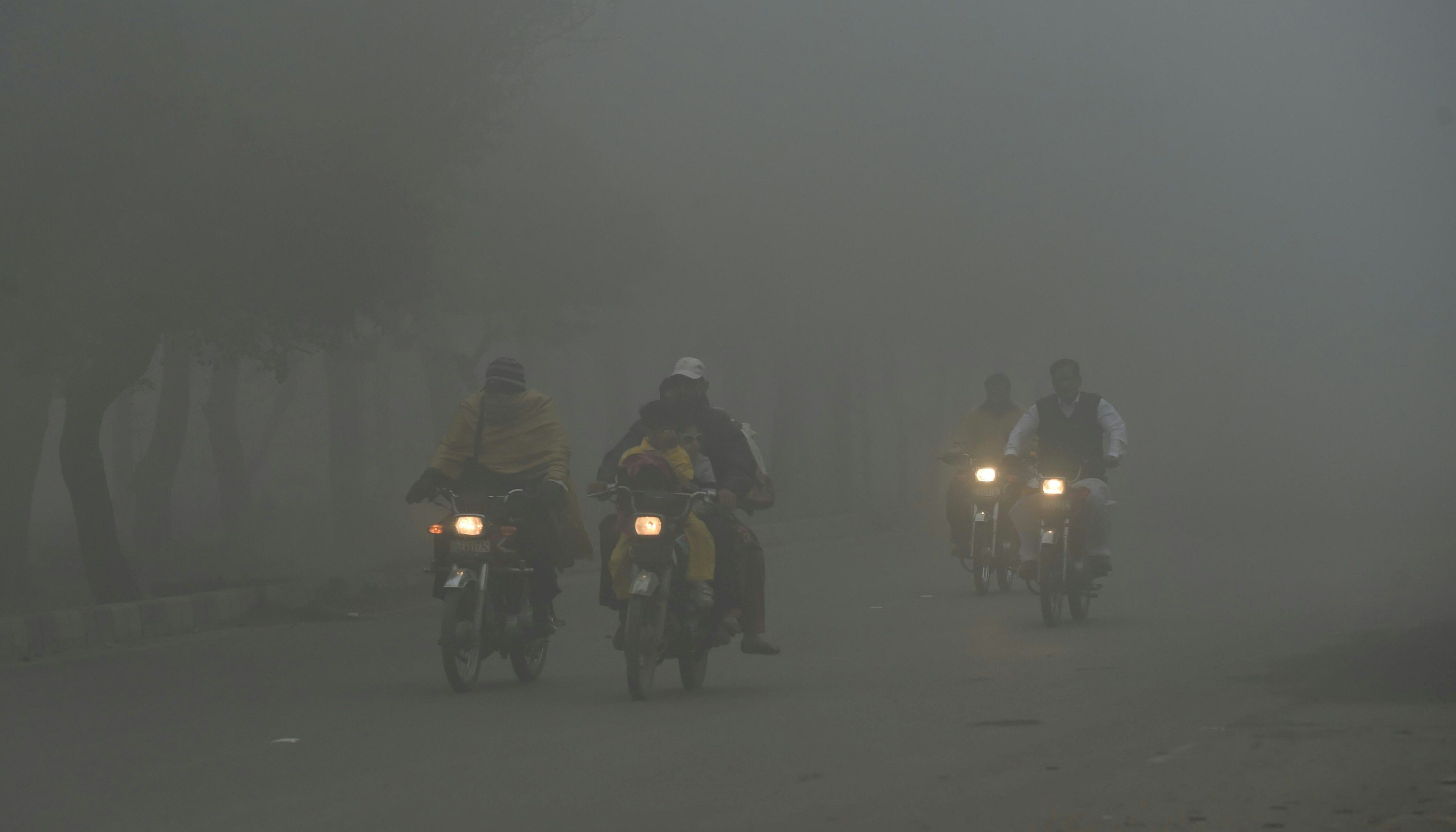 Rain expected in Punjab, KP, likely to clear smog