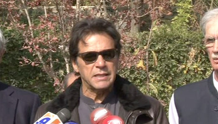 Nawaz seeking to destroy state institutions to save his billions: Imran Khan