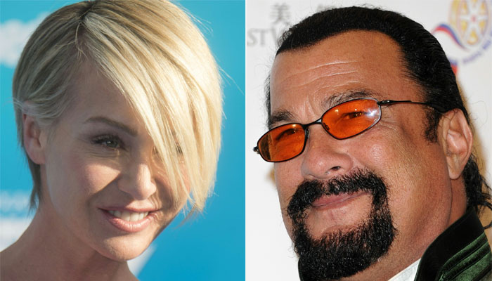 Portia de Rossi accuses Steven Seagal of sexually harassing her