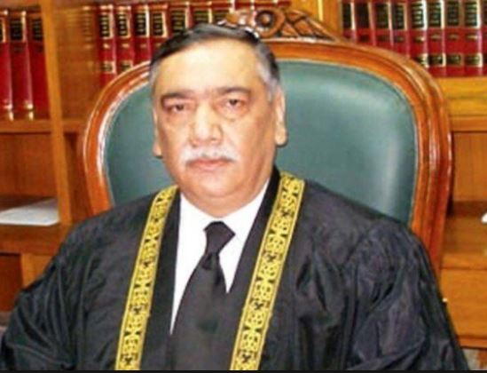 SC Justice Asif Saeed refuses to hear Hudaibiya Paper Mills case