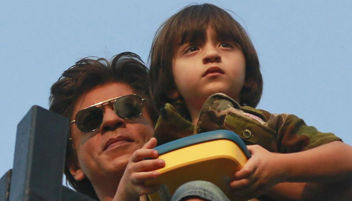 Shah Rukh Khan's son AbRam dances for siblings