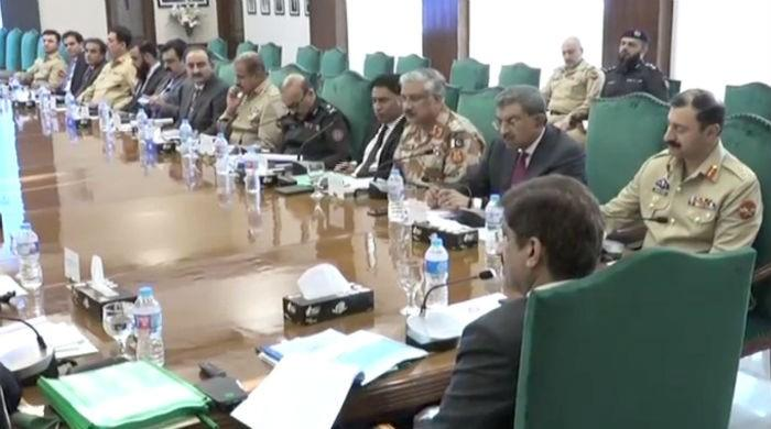 Sindh Apex Committee decides to continue crackdown against street criminals