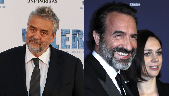Luc besson to direct us detective show entertainment for Jean luc dujardin