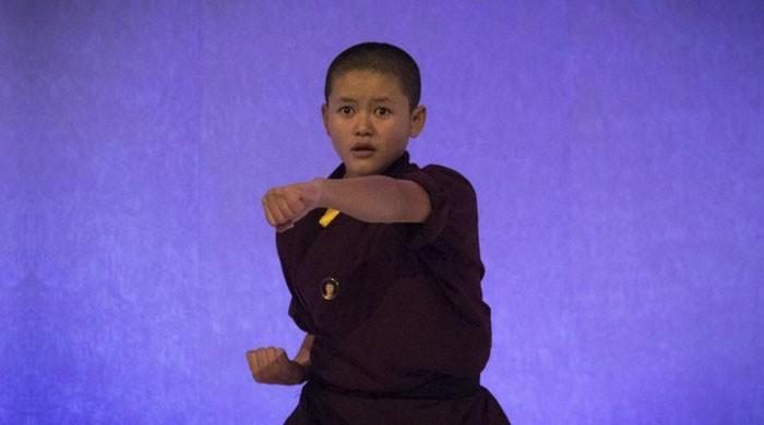 'Kung Fu' nuns show London how to fight sexual predators