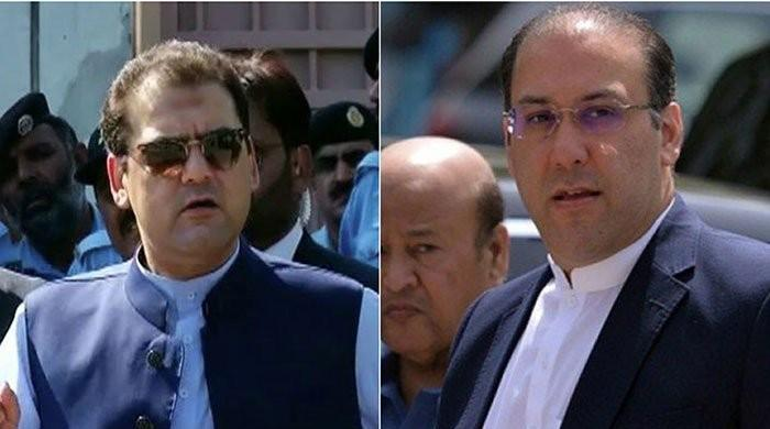 NAB Lahore requests headquarters to place Hasan, Hussain Nawaz on ECL