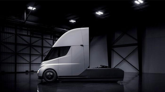 Tesla's all-electric semi truck aims to disrupt transport