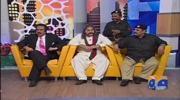 Rehman Malik dummy museum mein sawal Election ke baray mai. Khabarnaak