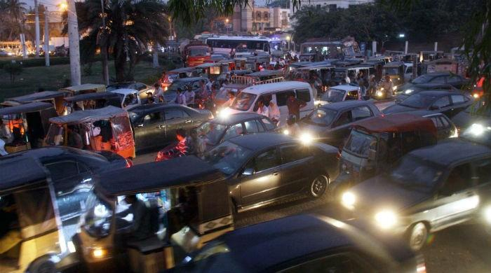 Commuters in Karachi troubled as Islamabad protest spills over