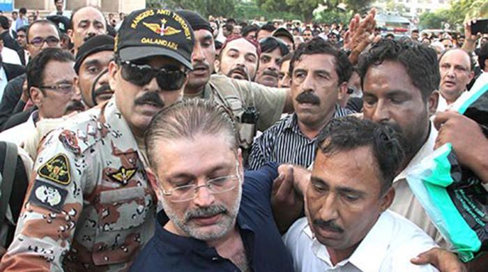 Sharjeel Memon admitted to JPMC after complaints of back pain: sources