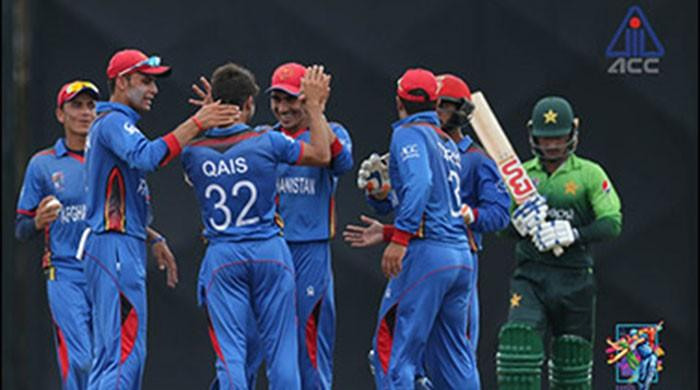Afghanistan thrash Pakistan at U-19 Asia cup in Malaysia