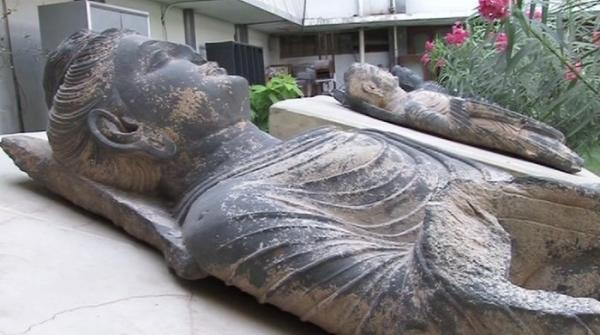 Mystery behind 1,500-year-old Buddha statue in National Museum