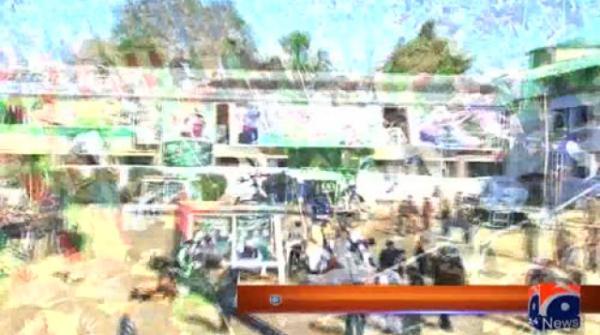 Stage set, Nawaz Sharif en route for PML-N's Abbottabad rally