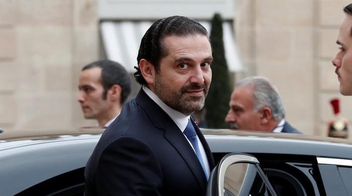 Lebanon's Hariri to visit Egypt on Tuesday: Hariri's office