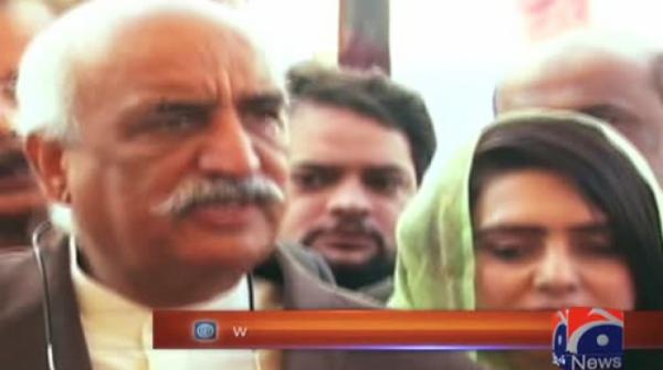 Islamabad sit-in: Government has lost its writ, says Khursheed Shah