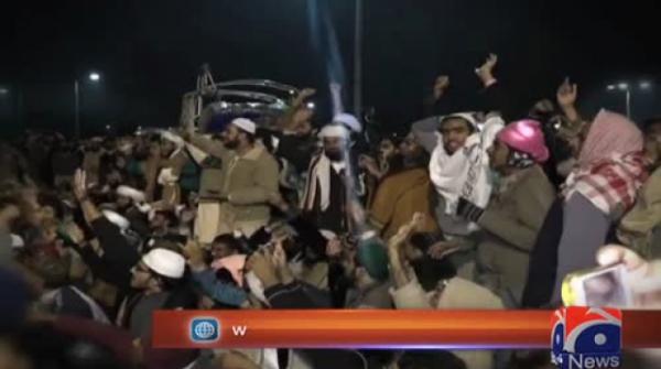 Ahsan Iqbal hopeful of resolving Islamabad sit-in within 24-48 hours