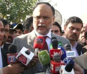 Ahsan Iqbal hopeful of resolving Islamabad sit-in within 24-48 hours