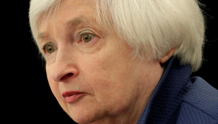 Yellen will resign from Fed upon Powell swearing in