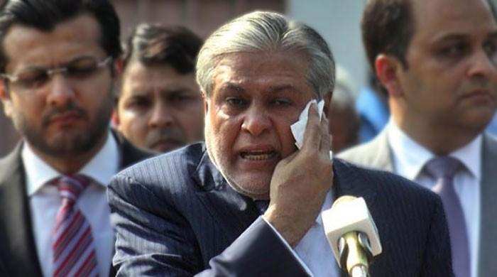 NAB court declares Ishaq Dar absconder, orders initiating 'proclaimed offender' proceedings