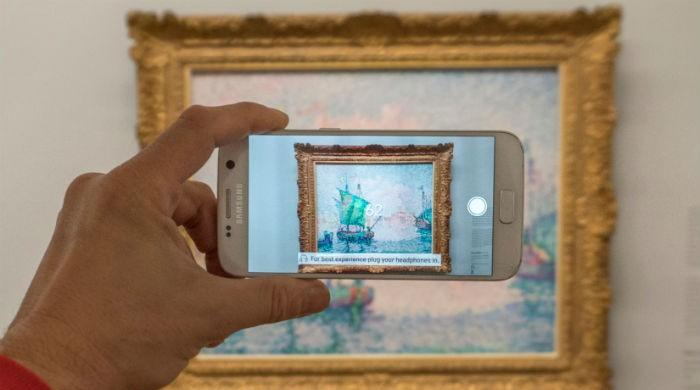 'Augmented reality' brings art alive in Vienna
