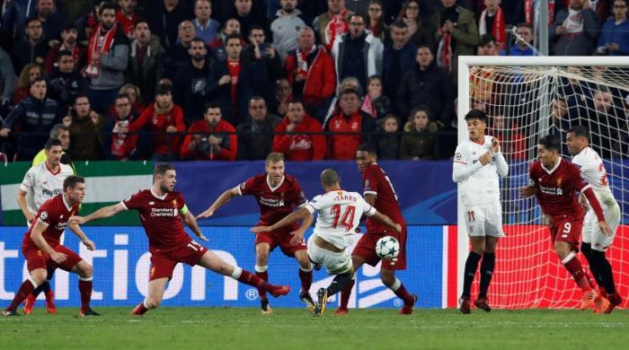 Sevilla complete astonishing three-goal comeback to deny Liverpool