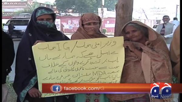 Elderly couple tortured by Multan police seek justice