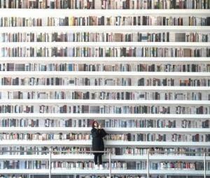 China's futuristic library: A whole lot of fiction