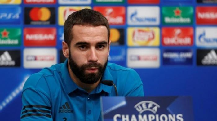 Real Madrid's Carvajal charged by UEFA for 'deliberate booking'