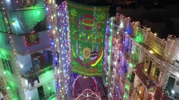 Preparations for Eid Milad-un-Nabi in full swing