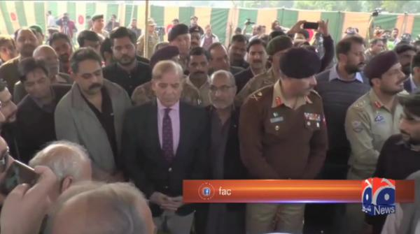 Martyred Major Ishaq laid to rest with full military honours