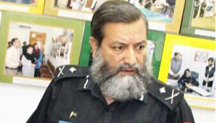 Martyred Additional IG Mohammad Ashraf Noor
