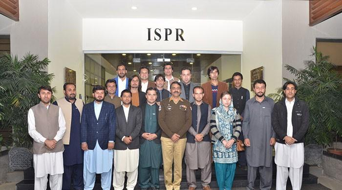 FATA youth delegation visits ISPR