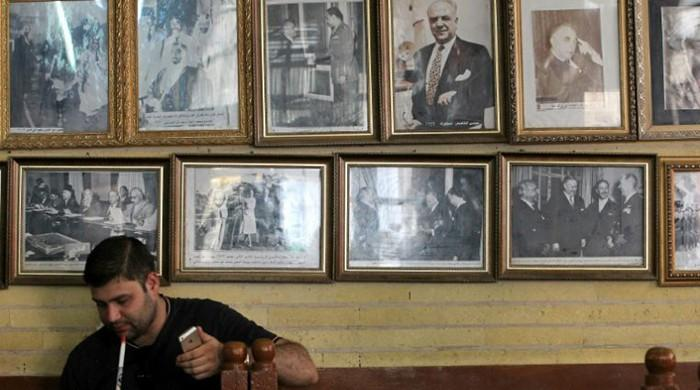 Baghdad cafe marks 100 years as intellectual hub