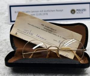 Berlin police seeking more missing John Lennon items