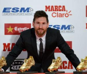 Messi maturing with age as he picks up fourth Golden Shoe