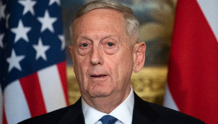 Mattis departs for five-day Middle East trip
