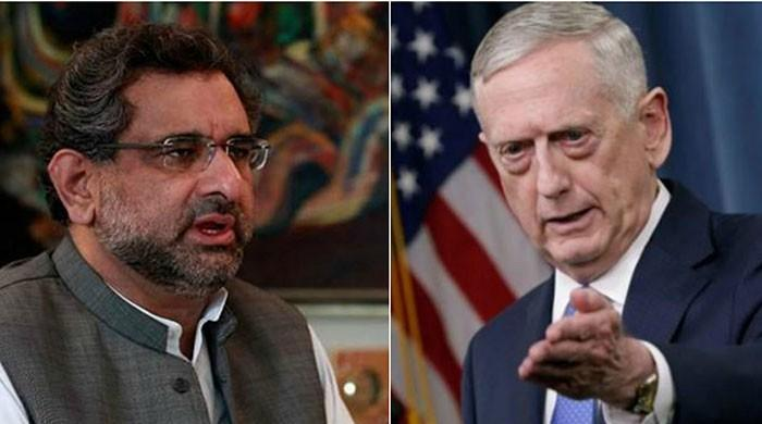US wants ties with Pakistan to move forward, says Mattis after meeting PM