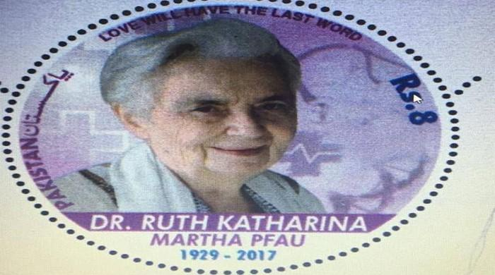 Pakistan Post issues commemorative stamp to honour Dr Ruth Pfau