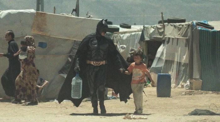 Batman befriends Syrian boy: refugee video named best charity ad