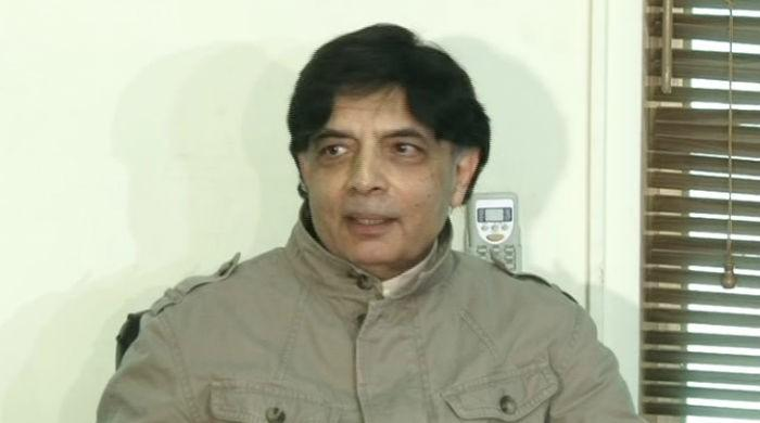 Sit-ins must end for country to progress: Chaudhry Nisar