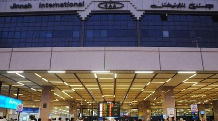 Two passengers held for illegally carrying 3kg gold at Karachi airport