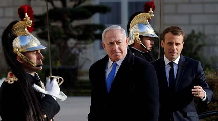 Macron asks Netanyahu to make gestures to break peace impasse