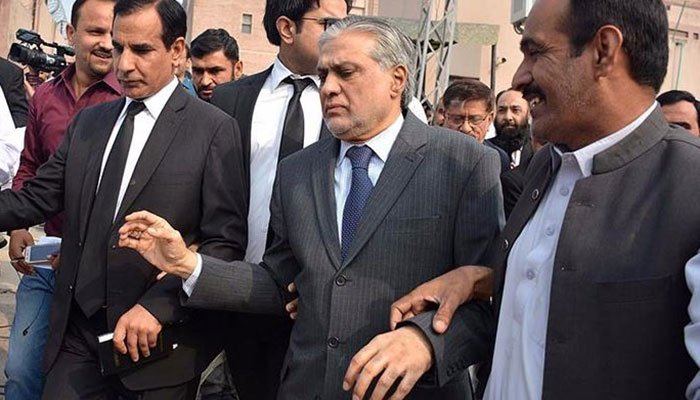 Ishaq Dar declared proclaimed offender in corruption case